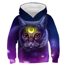 Load image into Gallery viewer, Cat Kawaii Animal Toddler Girl Hoodie Winter Boys Clothes Kids Baby Sweatshirts Fashion Casual Harajuku Children Warm Moletom - shopbabyitems