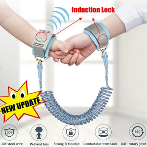 Child Anti Lost Wrist 1.5/2/2.5M Strap Rope Toddler Leash - shopbabyitems