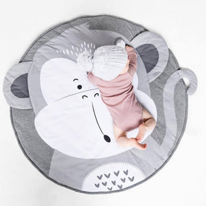 Child Play Mats kids animal Crawling Carpet Floor Rug Baby soft cotton sleeping Game rugs - shopbabyitems