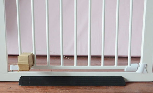 Child Safety Gate Fixed plate Baby Fence Reinforcement Groove Stairs Barrier - shopbabyitems