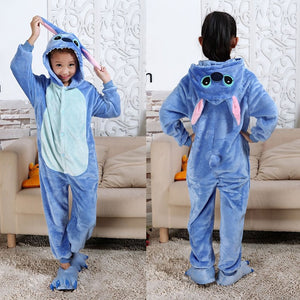 Children Pijama Unicornio Infantil Kids Warm Unicorn Rainbow Pajama Pyjamas Boys Baby Girl Clothes Animal  Pijamas 4-10Y - shopbabyitems