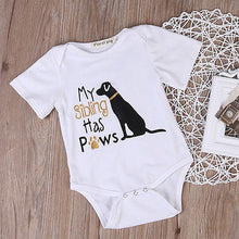 Load image into Gallery viewer, Cotton Toddler Infant Baby Boys Girls Short Sleeve Cute Dog Romper Jumpsuit Clothes Outfits - shopbabyitems