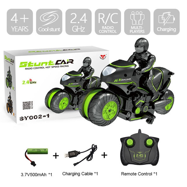 Creat Mini Moto Kids Motorcycle Electric Remote Control RC Car mini motorcycle 2.4Ghz Racing Motorbike Boy toys for children - shopbabyitems