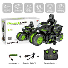 Load image into Gallery viewer, Creat Mini Moto Kids Motorcycle Electric Remote Control RC Car mini motorcycle 2.4Ghz Racing Motorbike Boy toys for children - shopbabyitems