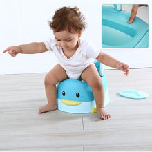 Load image into Gallery viewer, Cute Duck Animal Soft Baby Potty Cartoon Baby Toilet Children's Potty Child Potty Chair - shopbabyitems