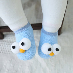 Anti-Slip Socks Slipper Boot Baby Girls Socks Newborn Soft Cute Rabbit Baby Socks - shopbabyitems