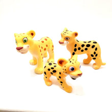 Load image into Gallery viewer, Cute cartoon animal toy Forest family Giraffe Lion Hippo deer Chimpanzee Aardvark Big ears Fox Kid toys - shopbabyitems