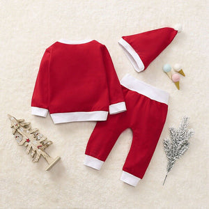 Christmas Costumes Baby Clothes Autumn Girl Boy Long Sleeve - shopbabyitems