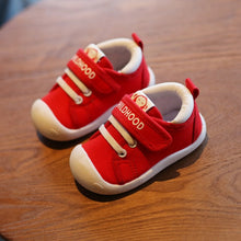 Load image into Gallery viewer, Canvas Shoes Soft Bottom Comfortable Non-slip Kid Baby First Walkers Shoes - shopbabyitems