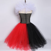 Load image into Gallery viewer, Dress Queen of Hearts black and red, Alice's carnival costume in Halloween - shopbabyitems