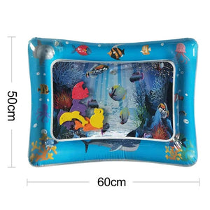 New Design Baby Water Play Mat Inflatable Infant Tummy Time Playmat - shopbabyitems