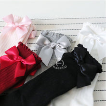 Load image into Gallery viewer, Emmababy Hot Cute Cotton Baby Socks Anti-Slip Infant Knee High Socks Newborn Baby Socks - shopbabyitems