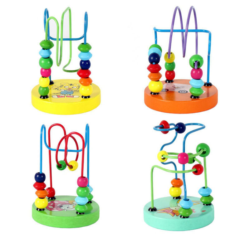 Children's toys baby doll kids Educational toy beads - shopbabyitems