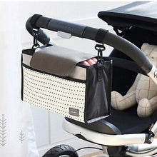 Load image into Gallery viewer, Fashion Multifunctional Mummy Bag Baby Diaper Nappy Pram Stroller Hanging Bag - shopbabyitems