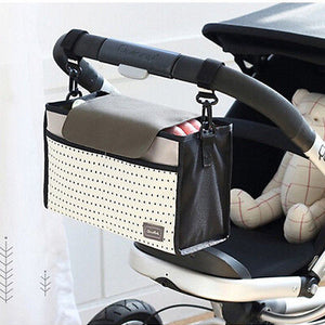 Fashion Multifunctional Mummy Bag Baby Diaper Nappy Pram Stroller Hanging Bag - shopbabyitems