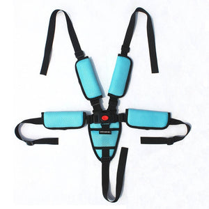 Five-point safety belt Bebe accessories universal chair car safety belt Crotch shoulder protector - shopbabyitems