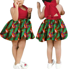 Load image into Gallery viewer, News Dashiki Floral Print African Dresses for Women Kids African Clothes - shopbabyitems