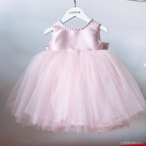 Girls Dress Pearl Princess For Birthday Party Little Bridesmaid Wedding Girls Dresses Ball Gown Baby Baptism Christening Dresses - shopbabyitems