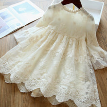 Load image into Gallery viewer, Fashion Children's Clothing Lace Princess Party Fluffy Cake Smash Dress Kids Baby Long Sleeve Dresses Clothes - shopbabyitems