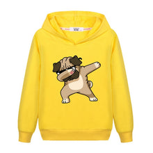 Load image into Gallery viewer, Girls New Fashion Dabbing Hoodie Kids Autumn Cotton Dab Coat - shopbabyitems