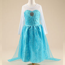 Load image into Gallery viewer, Girls elsa dress Costumes for kids snow queen - shopbabyitems