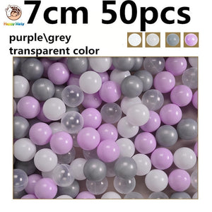 50 pcs lot Eco-Friendly Colorful Balls Plastic Ocean Balls Funny - shopbabyitems