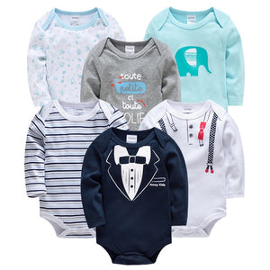 Baby Girl Clothes Cotton Pyjamas Long Sleeve body dziecko 0-12M vetement bebe garcon Body bebe Newborn Baby Clothing - shopbabyitems