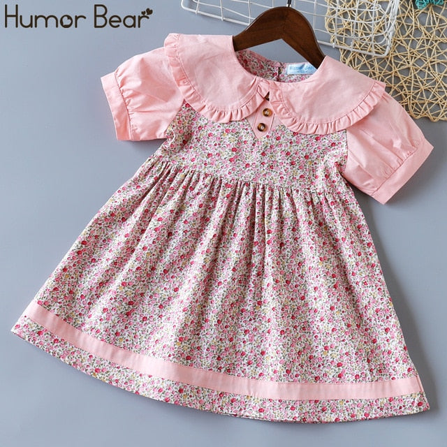 Girl Dress NEW Fashion Summer Kids Clothes For Girl Mesh Princess Dresses Toddler Clothing - shopbabyitems