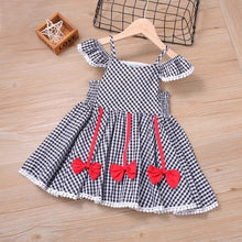 Load image into Gallery viewer, Summer Girl Dresses Soild Dresses Princess Girls Clothes Party Children Clothing Toddler Baby Kids Dresses - shopbabyitems