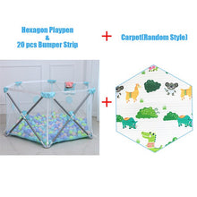 Load image into Gallery viewer, Not Installation Baby Playpen Fence Safety Barrier For 0-6Y Kids Children Playpen - shopbabyitems