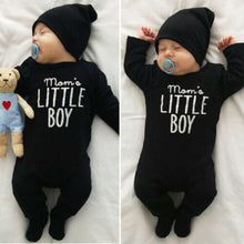 Load image into Gallery viewer, Infant Baby Boy Newborn Baby Clohting Set Momo's Little Boy Letter Romper - shopbabyitems