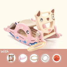 Load image into Gallery viewer, Slides for Kids Rocking Horse 4 in 1 Baby Toys Children's Slides Ride Horse Toy Multifunction Birthday Gift - shopbabyitems