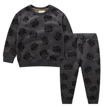 Load image into Gallery viewer,   Jumping Meters  Boys Autumn Winter Clothing Sets Cotton Animals Printed Baby Clothes For Boys Girls Wear New Arrival Outfits - shopbabyitems