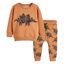 Load image into Gallery viewer, Jumping meters Baby Boys Clothing Sets Autumn Winter Boy Set Sport Suits For Boys Sweater Shirt Pants 2 Pieces Sets children - shopbabyitems