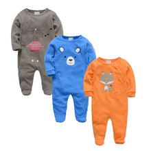 Load image into Gallery viewer, Baby Girl Rompers Long Sleeve Infant Boy Autumn Winter Jumpsuits - shopbabyitems