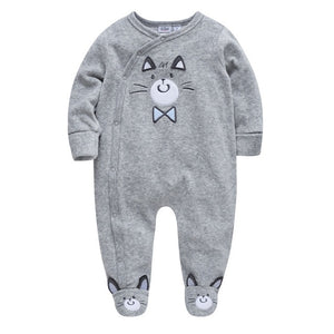 Baby Girls Rompers Winter Christmas Jumpsuit bebe Clothing 0-24M Newborn - shopbabyitems