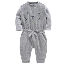 Load image into Gallery viewer, Baby Girls Rompers Winter Christmas Jumpsuit bebe Clothing 0-24M Newborn - shopbabyitems