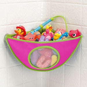 Suction Cup Bathroom Waterproof Bathing Toys for Children Collection Hanging Wall Bag - shopbabyitems