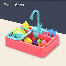 Load image into Gallery viewer, Kids Kitchen Toys Simulation Electric Dishwasher - shopbabyitems