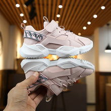 Load image into Gallery viewer, Kids Leather Shoes Girls Sport Sneakers Children Mesh - shopbabyitems