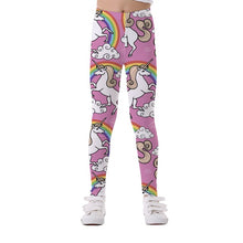 Load image into Gallery viewer, Kids Pants Unicorn Legging Girls Trousers Leggings for Girls Legging Elasticity Breathable Soft Print Baby Boy Girls Pants - shopbabyitems