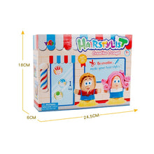 Load image into Gallery viewer, Kids Toy Hairstylist Clay Toys For Children Modeling Clay Color Mud Dough Handmade Baby Pretend Barber Role Play Educational Toy - shopbabyitems