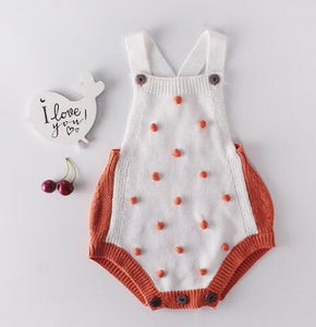 Knitted Rompers For Babies Spring Autumn Girl Baby Romper Set - shopbabyitems