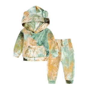 Newborn Baby Boys Clothes Autumn Winter Baby Girls Clothes Hoodie+Pant Outfit Kids - shopbabyitems