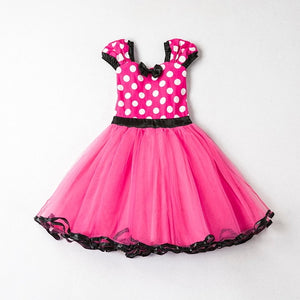 Lace Little Princess Dresses Summer Solid Sleeveless Tulle Tutu Dresses For Girls 2 3 4 5 6 Years Clothes Party Pageant Vestidos - shopbabyitems