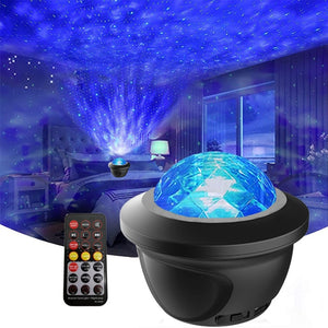 Led Starry Sky Night Light Projector Galaxy For Children Kids Room Buletoth Speaker - shopbabyitems