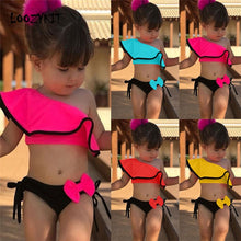 Load image into Gallery viewer, Baby Kids Girl Two Piece Swimsuit Summer Child Swimwear - shopbabyitems