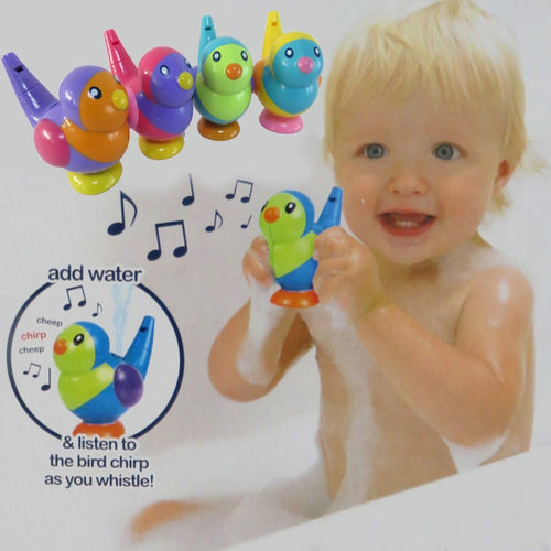 Lovely Bird Shape Whistle Kids Music Instrumental Bath Toy Baby Educational Toys - shopbabyitems