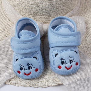 Low Price Loss Sale Baby Girl Boy Soft Sole Cartoon Anti-slip Shoes Comfortable Toddler Baby Shoes in Baby First Walk Shoes - shopbabyitems