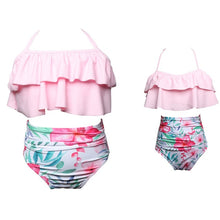 Load image into Gallery viewer, Matching Family Bathing Suits Mother Girl Bikini Swimsuit For Mom and Daughter Swimsuits - shopbabyitems